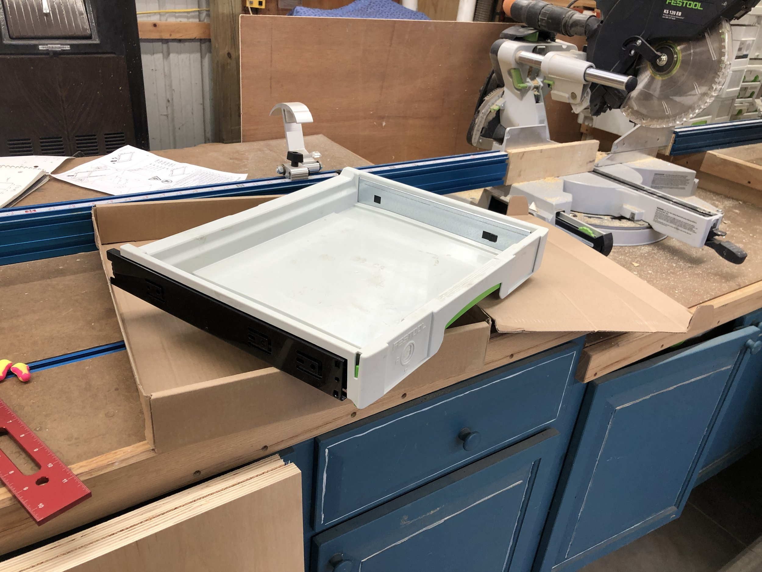 Building Cabinets For Festool Drawers
