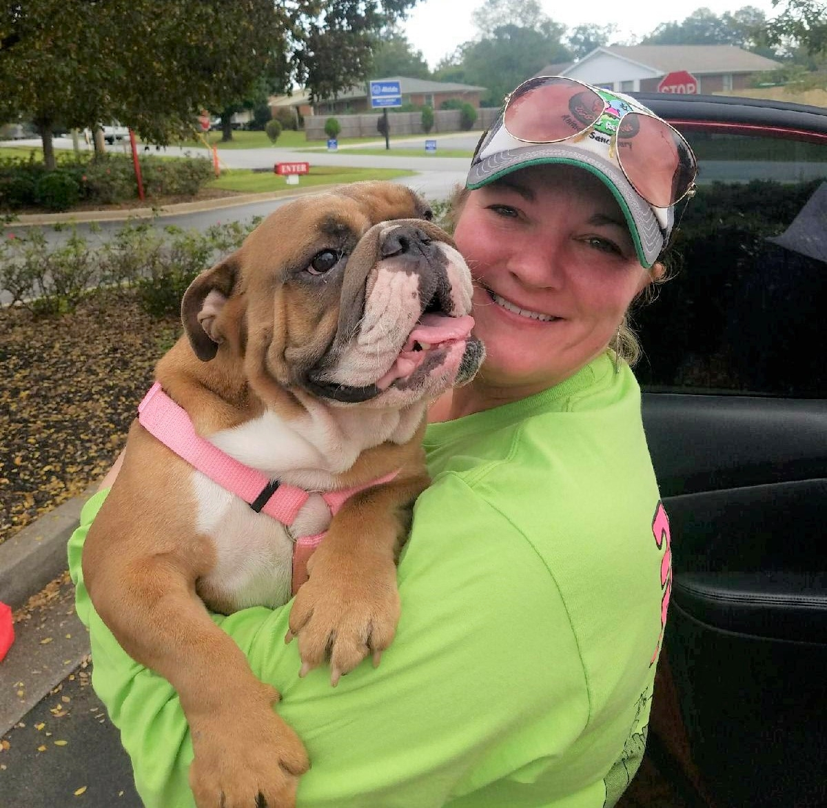 - Kim and Kiwi, adoption day
