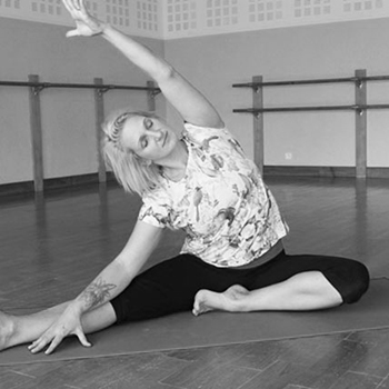 Kate Coulson - teacher   Kate Coulson is the director of BabyFit (yoga for birth and beyond) in Norwich and teaches yoga in southwest France, where she lives with her young family. Kate has been teaching fitness for 20 years and yoga for more than 10. With students aged from 0 to 95, Kate believes that yoga is for anyone and any body and can help everyone reach their full potential. Kate continues to study different yoga traditions and will tailor each sessions to the individual needs of the small group.