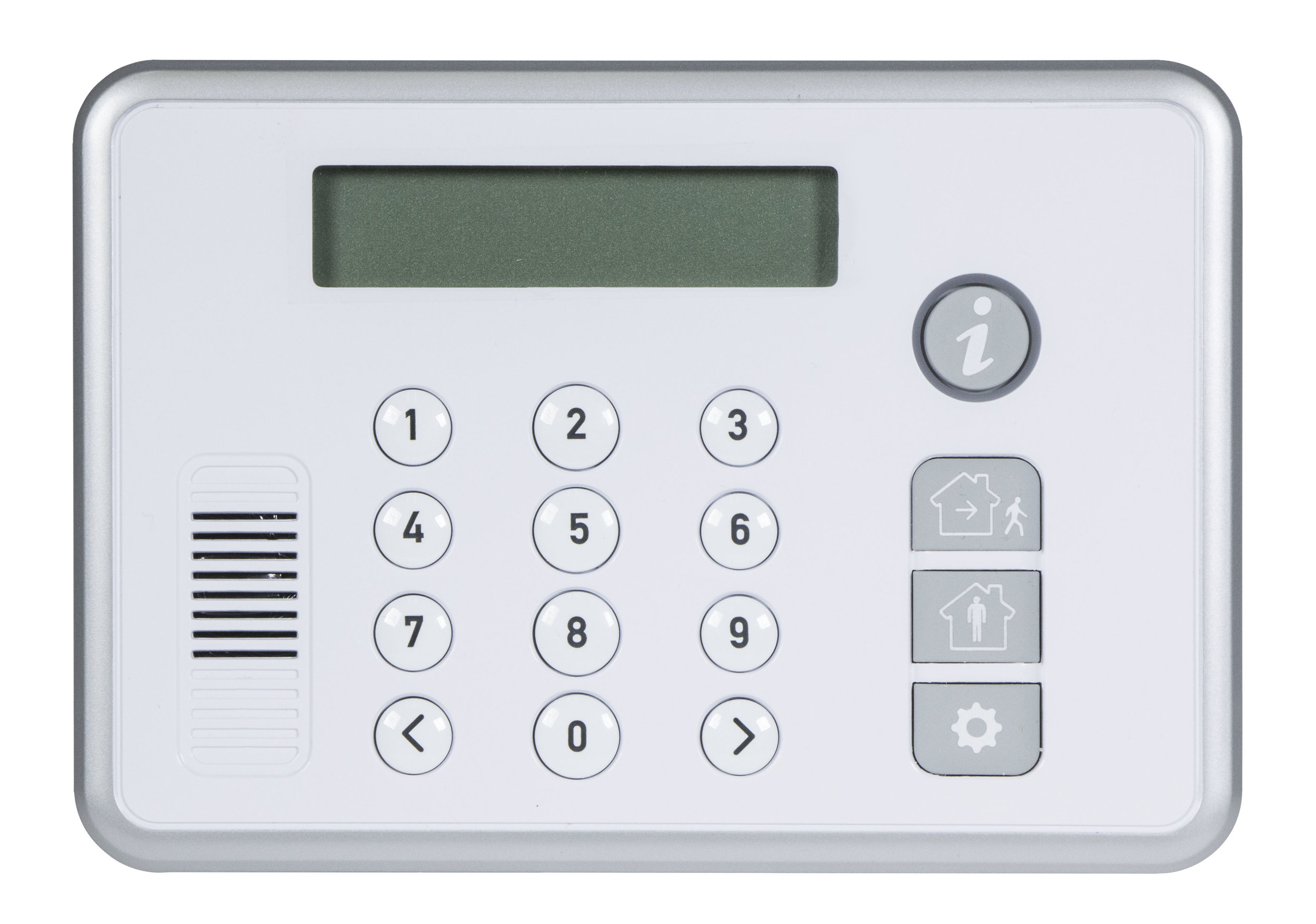Keypad with sounder and communicator built-in