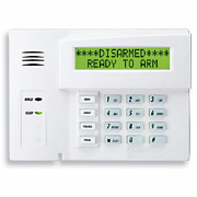 6160 keypad works with a wide variety of Honeywell panels