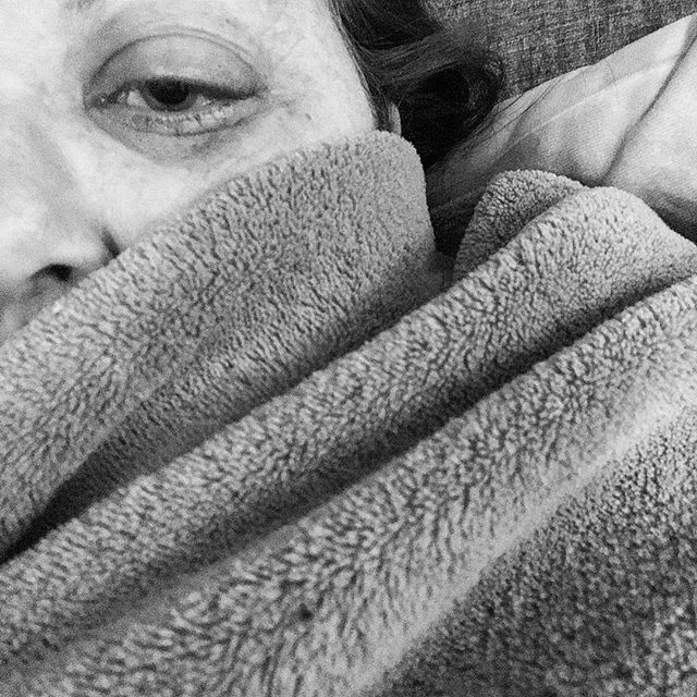 Some mornings - even summer mornings- need to begin wrapped tight in blankies. . . #spoonielife #spoonie #autoimmunedisease #achy #faithoverfeareveryday #togetherwearestronger #albertahealthservices #yegblogger