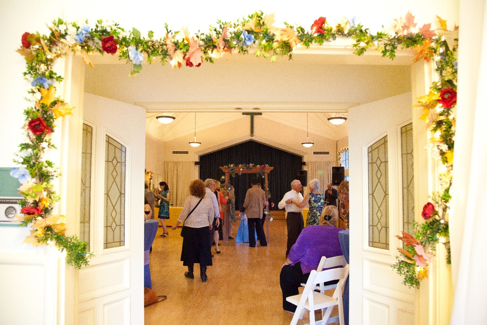 Weddings at Epiphany are festive affairs!