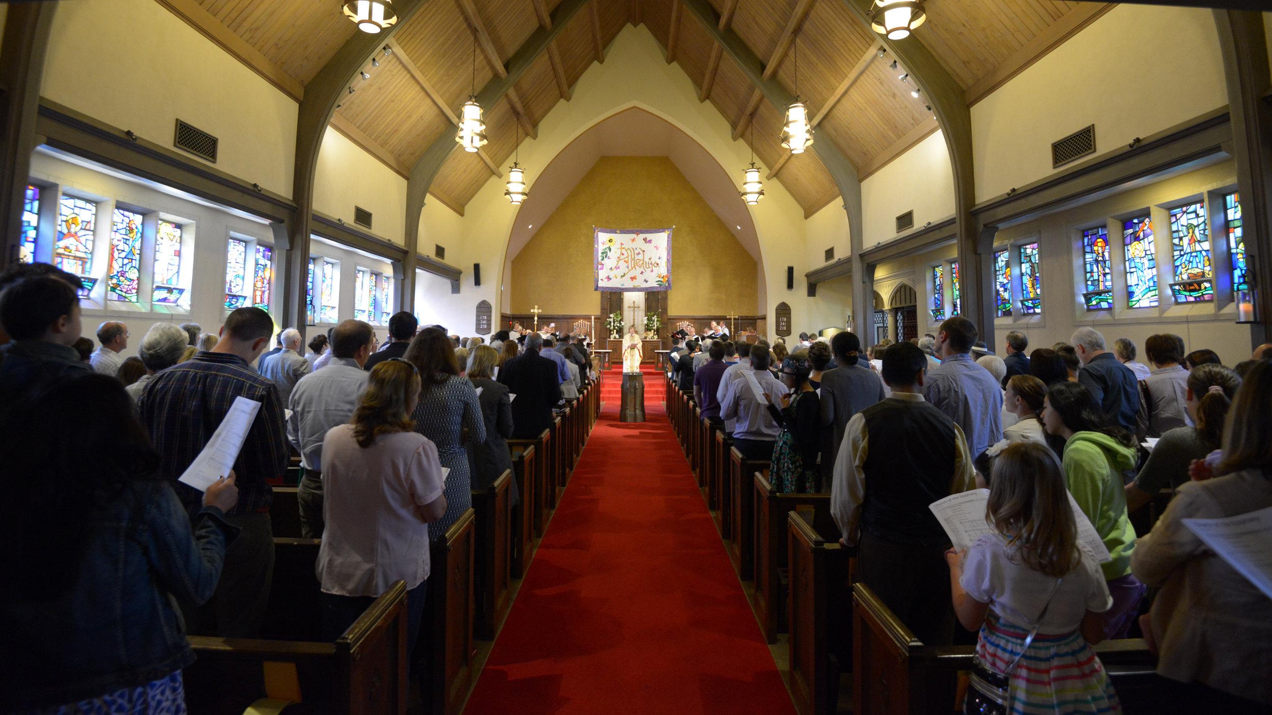 Facing the Altar