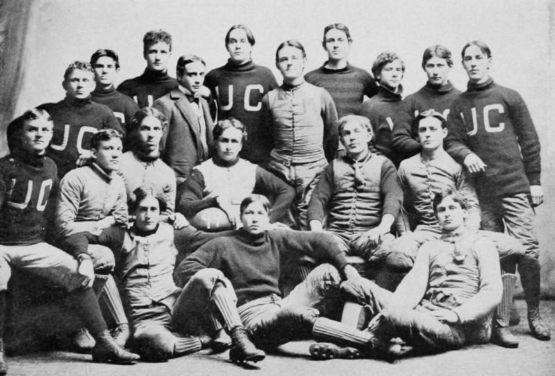 1894 Cincinnati football team (UC Libraries)