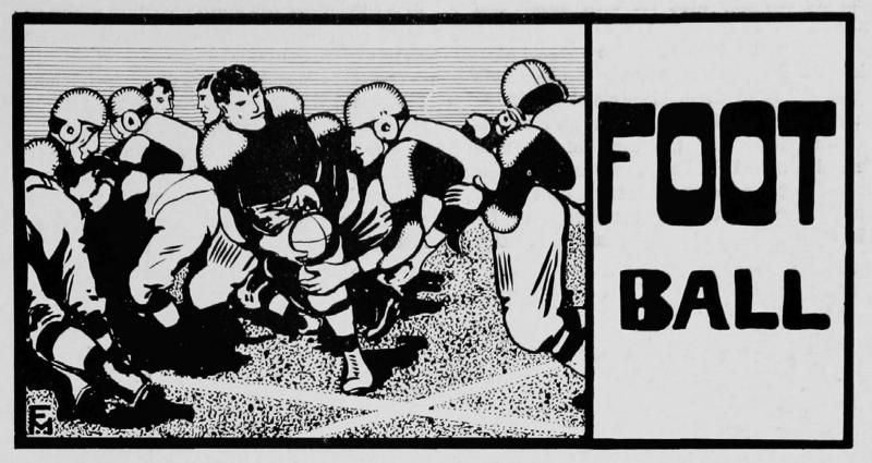 1906 UC football illustration (UC Libraries)