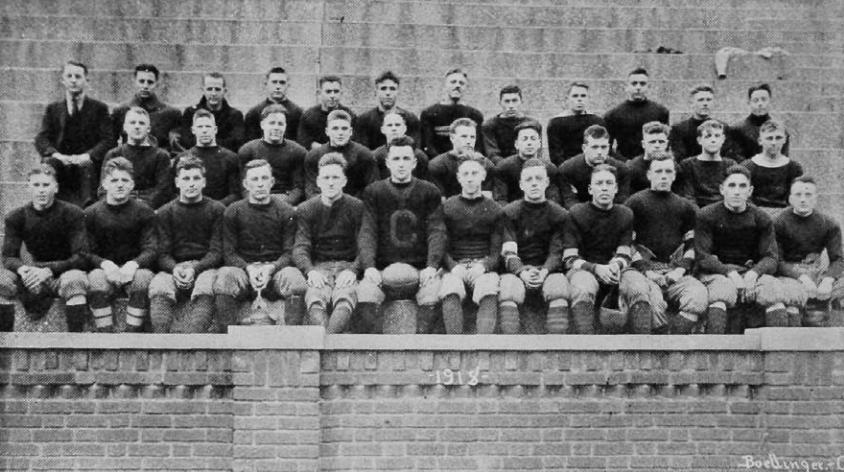 The 1918 Cincinnati Bearcats (UC Libraries)