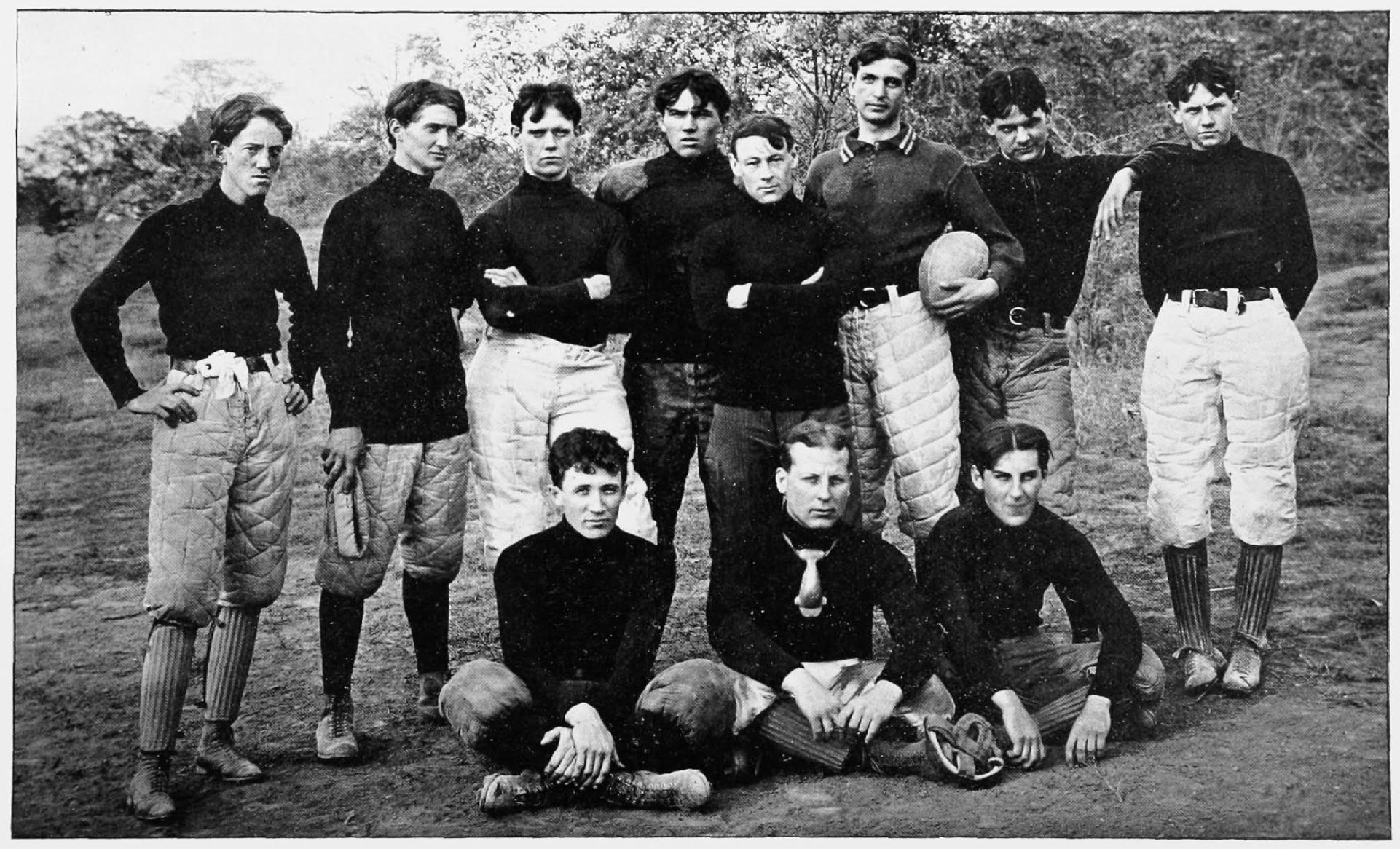 The 1901 Bearcats football team (UC Libraries)