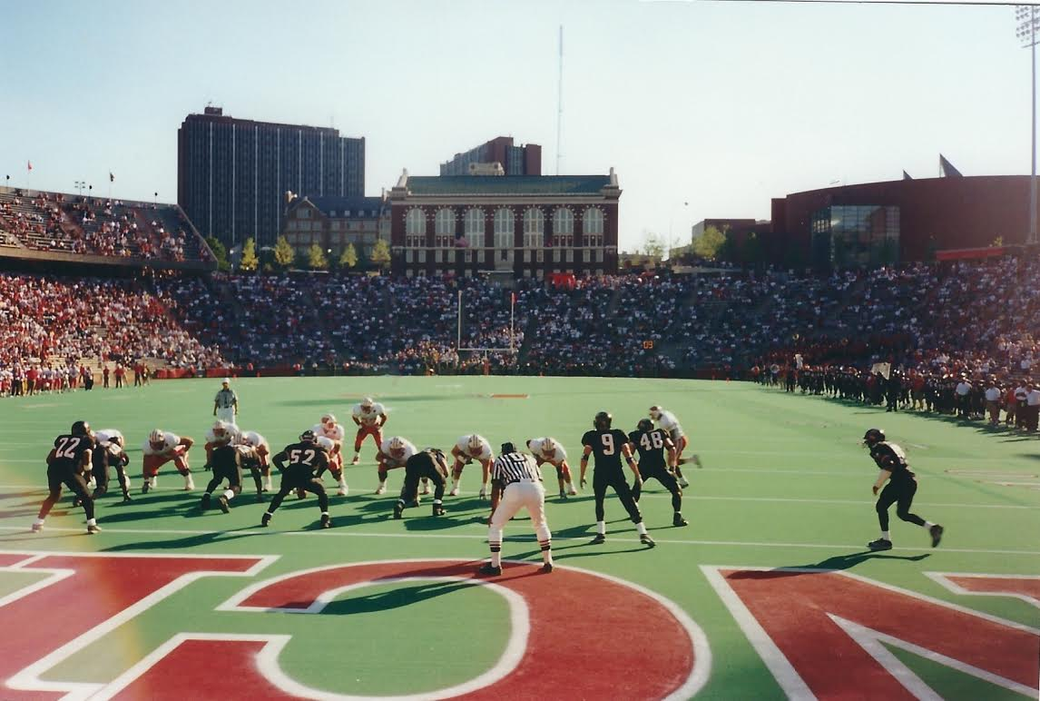 Cincinnati vs Wisconsin - Nippert Stadium, 1999. [ collegefootballtour.com ]