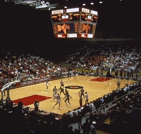 The Shoemaker Center, back when it was brand new—1989.