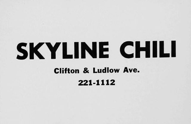 The world's greatest Skyline location opened in 1966. This ad, perfect in every way, ran in the UC yearbook a year later.