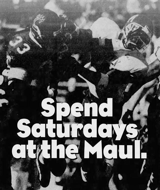 The 1997 Bearcats football season ticket ad was awesome.