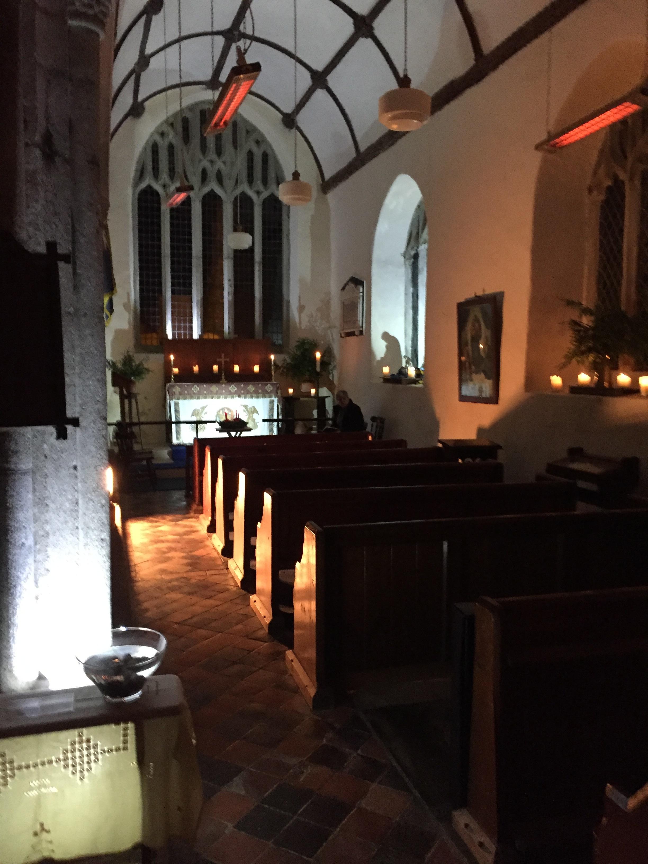 Lady Chapel prepared for Compline.JPG