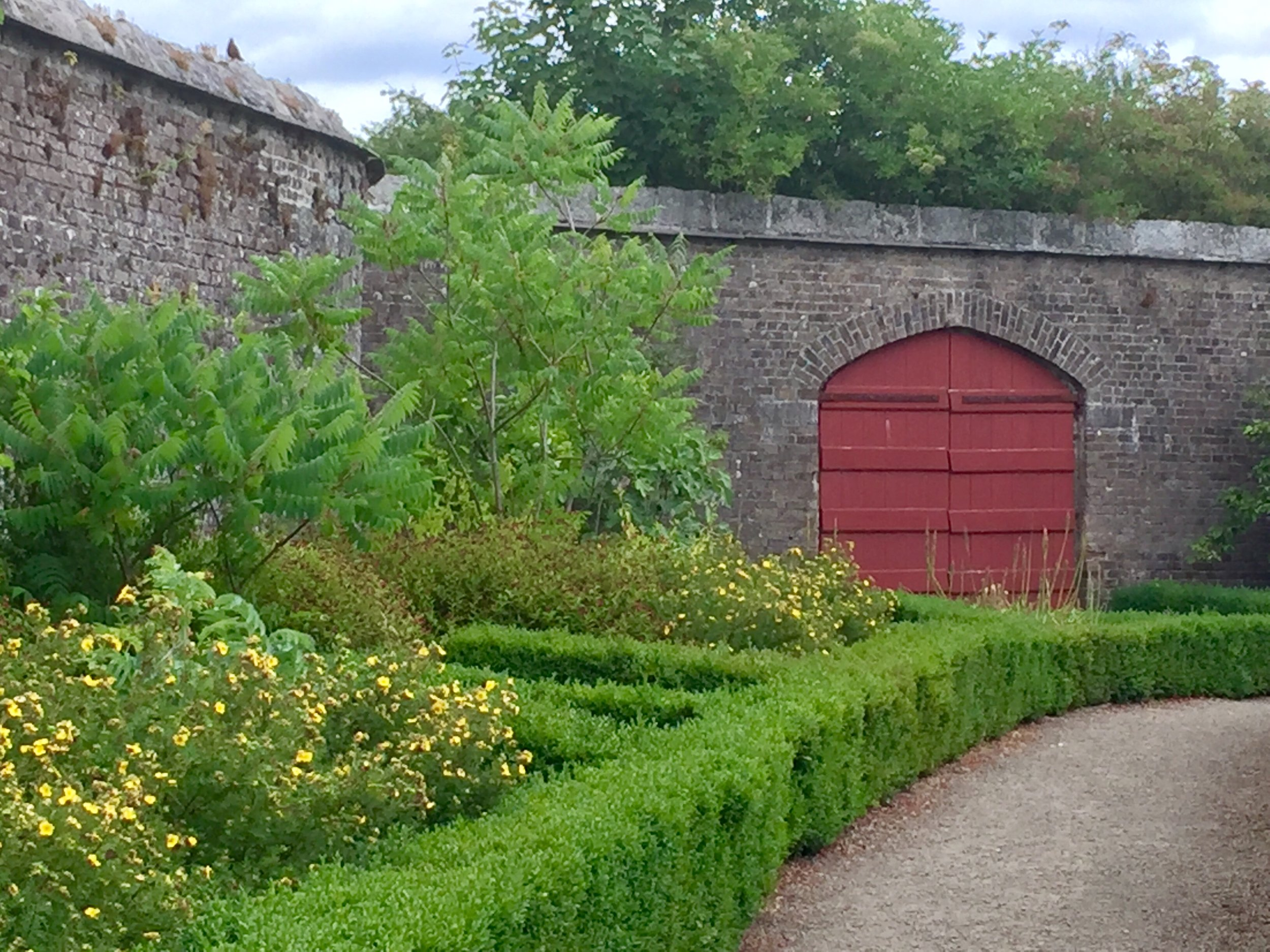 Walled Gardens - Ducketts Grove red gate in garden.jpg