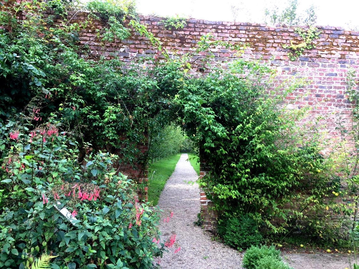 I loved this arch in the Colclough walled garden on the Hook Head peninsula in Co Wexford. The garden is attached to Tintern Abbey and has been beautifully restored. Another historic garden open to the public.