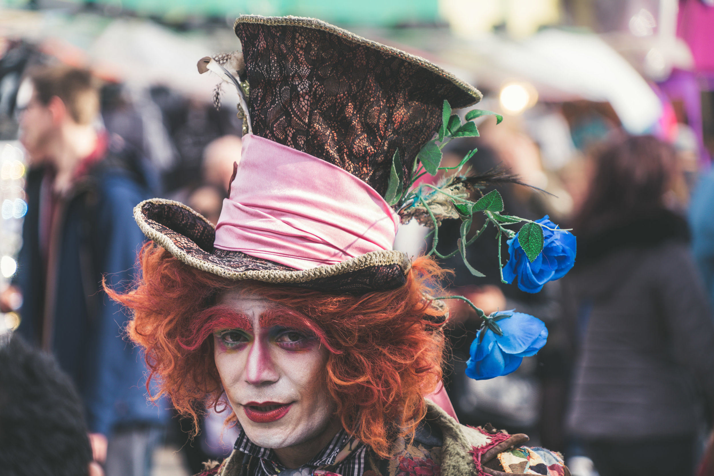 The Mad Hatter in Alice's Adventures in Wonderland by Lewis Carroll