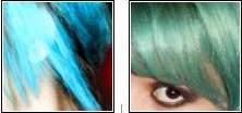 - Special Effects: FishbownlJeans Color: (não possui essa tonalidade)Anilina: Azul Celeste + EsmeraldaObs: + esmeralda p/ efeito + esverdeado ou + celeste p/ efeito + azulado.