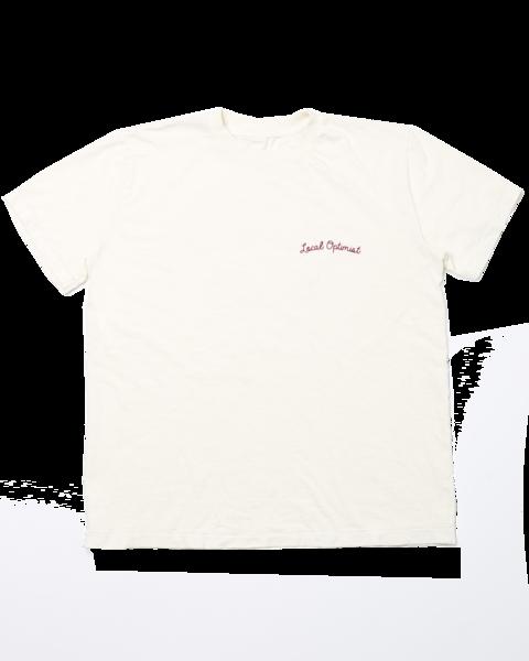 Homecoming tee-white - $60