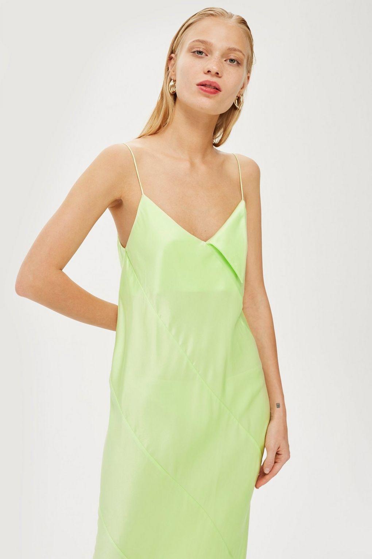 topshop - **sandwash slip dress