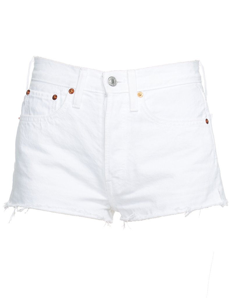 RE/DONE SHORT IN WHITE - $72