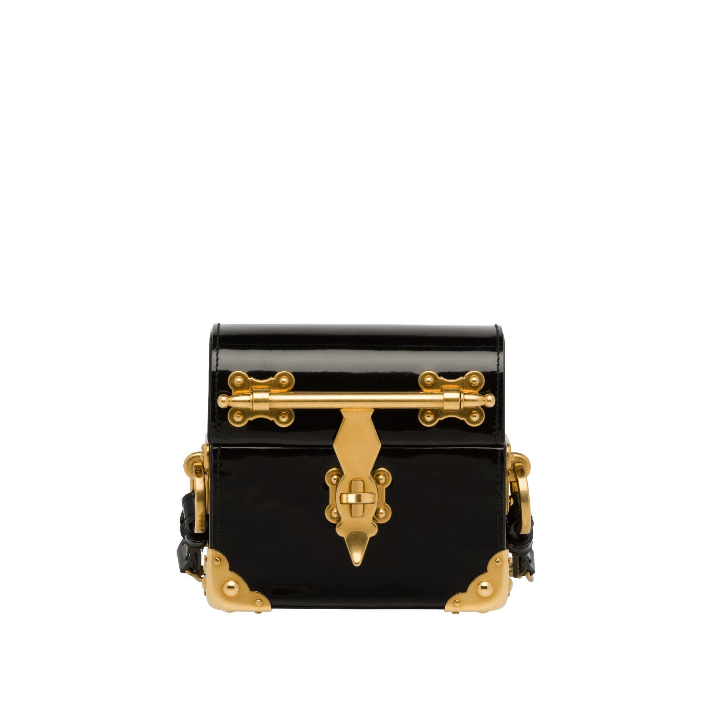prada micro box bag - $2,850