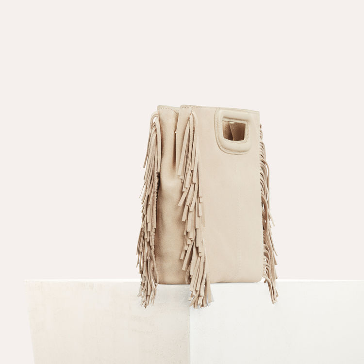 MAJE M BAG IN SUEDE - $275