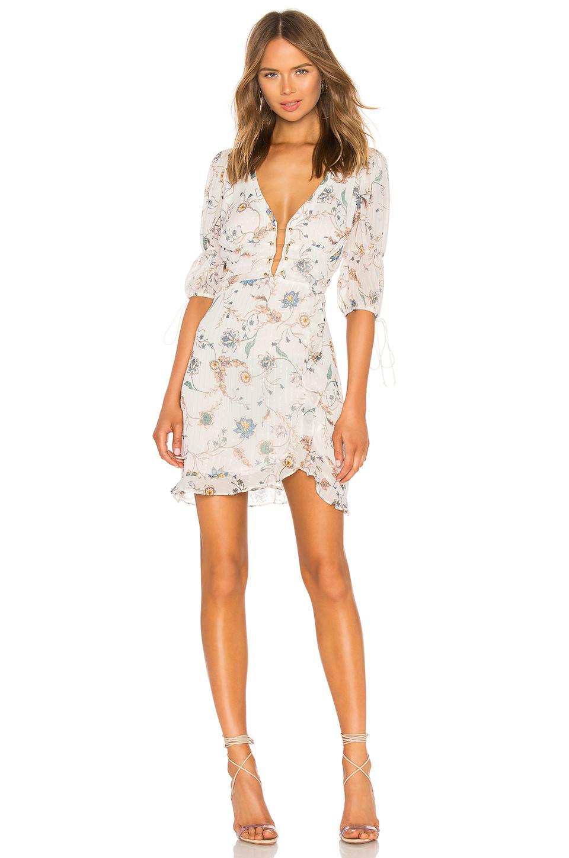 for love & lemons - elyse flirty mini dress