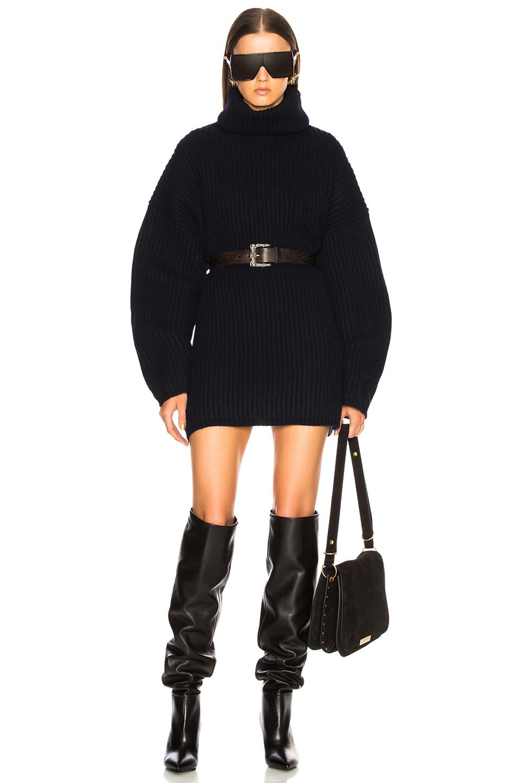 acne studios - oversized turtleneck sweater