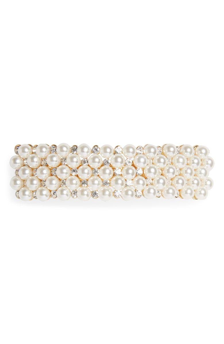 TASHA - Pearl Embellished Barrette