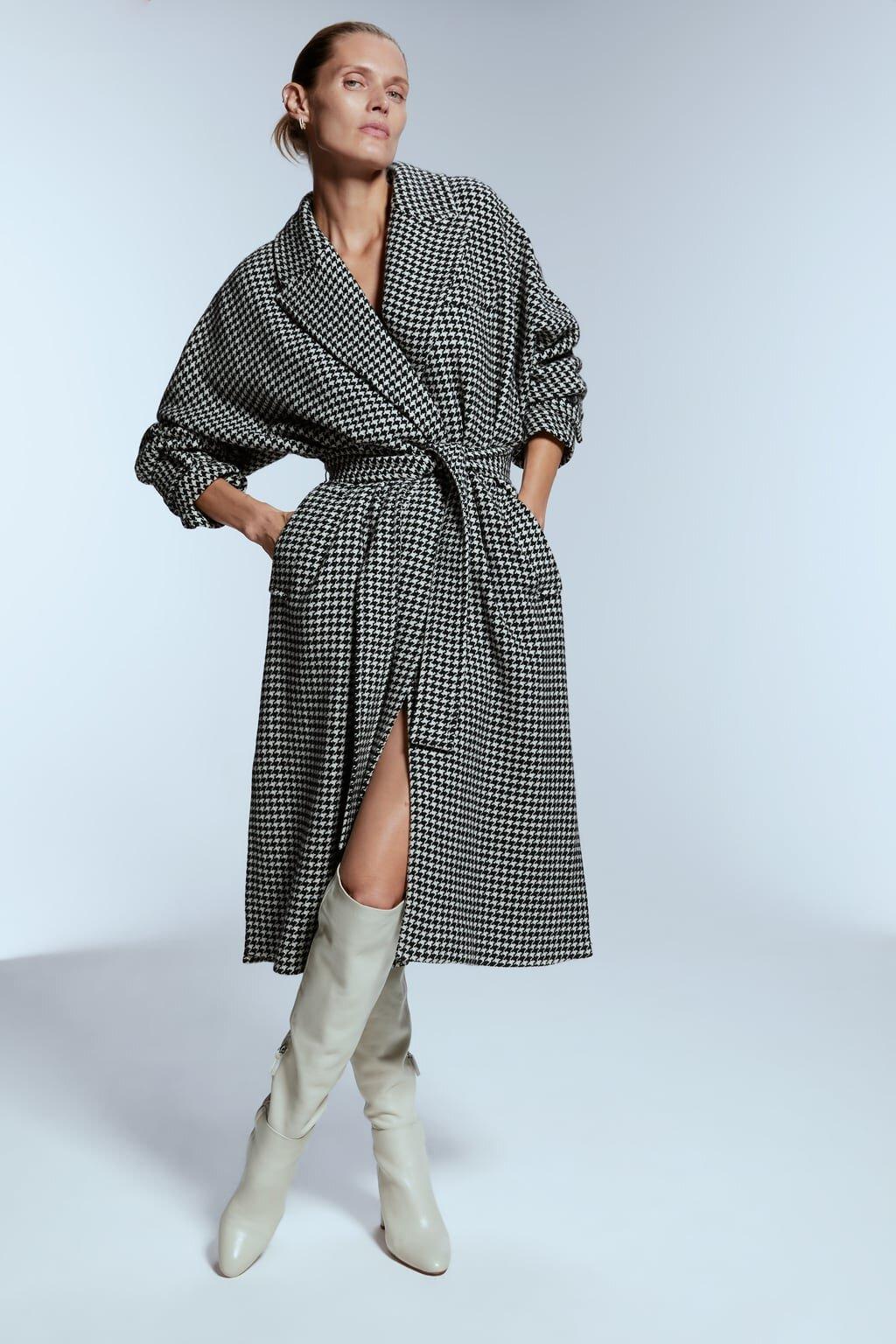 Zara Houndstooth Coast $199