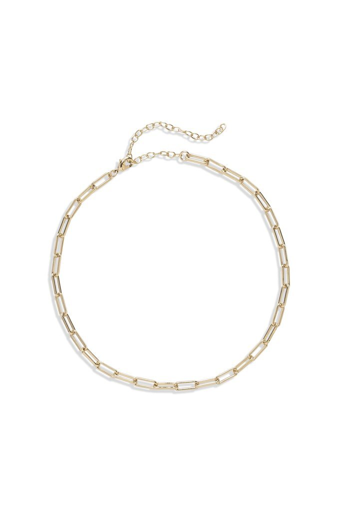 Lili Claspe Alexx Link Chain Choker Necklace: $50