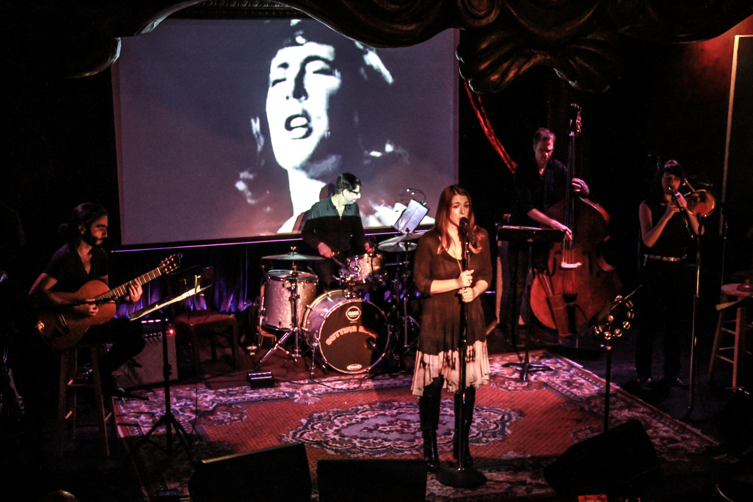 Queen of the Beatniks at The Cutting Room