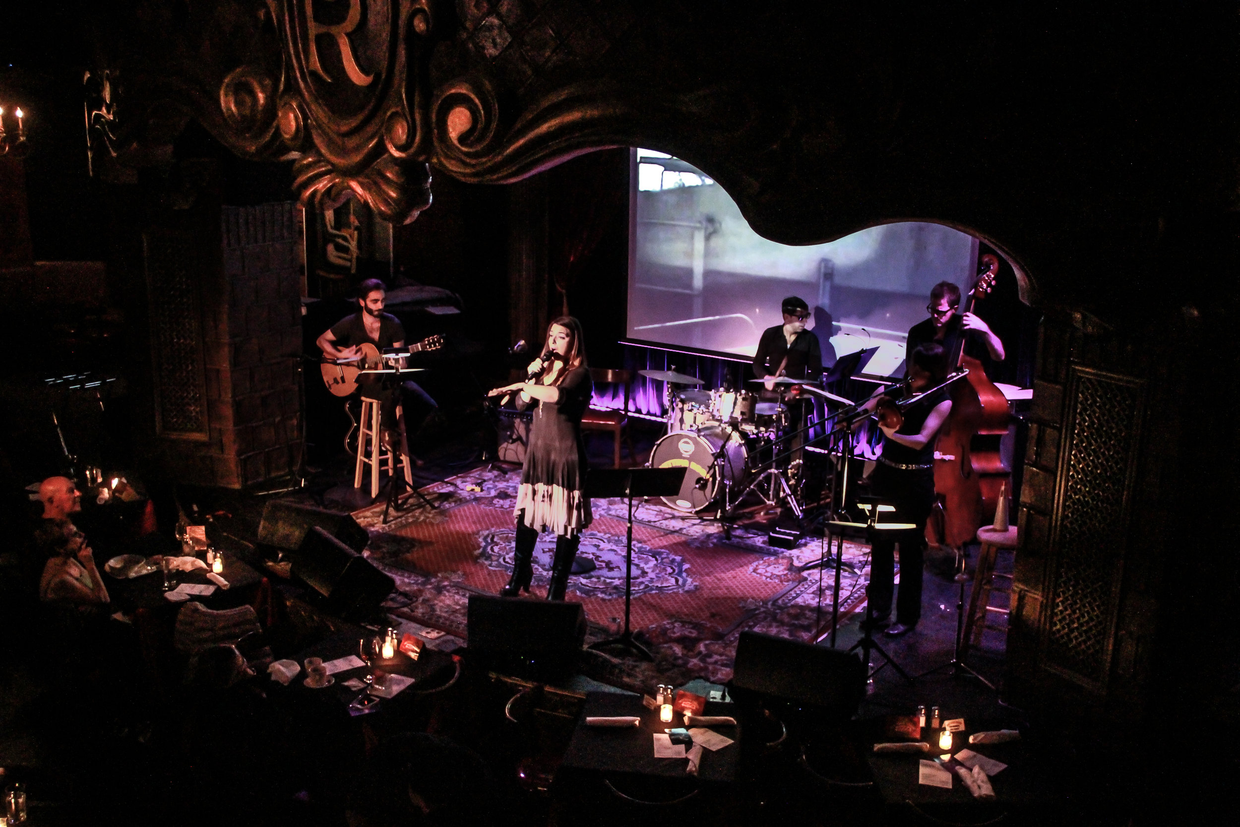 Queen of the Beatniks at The Cutting Room, NYC