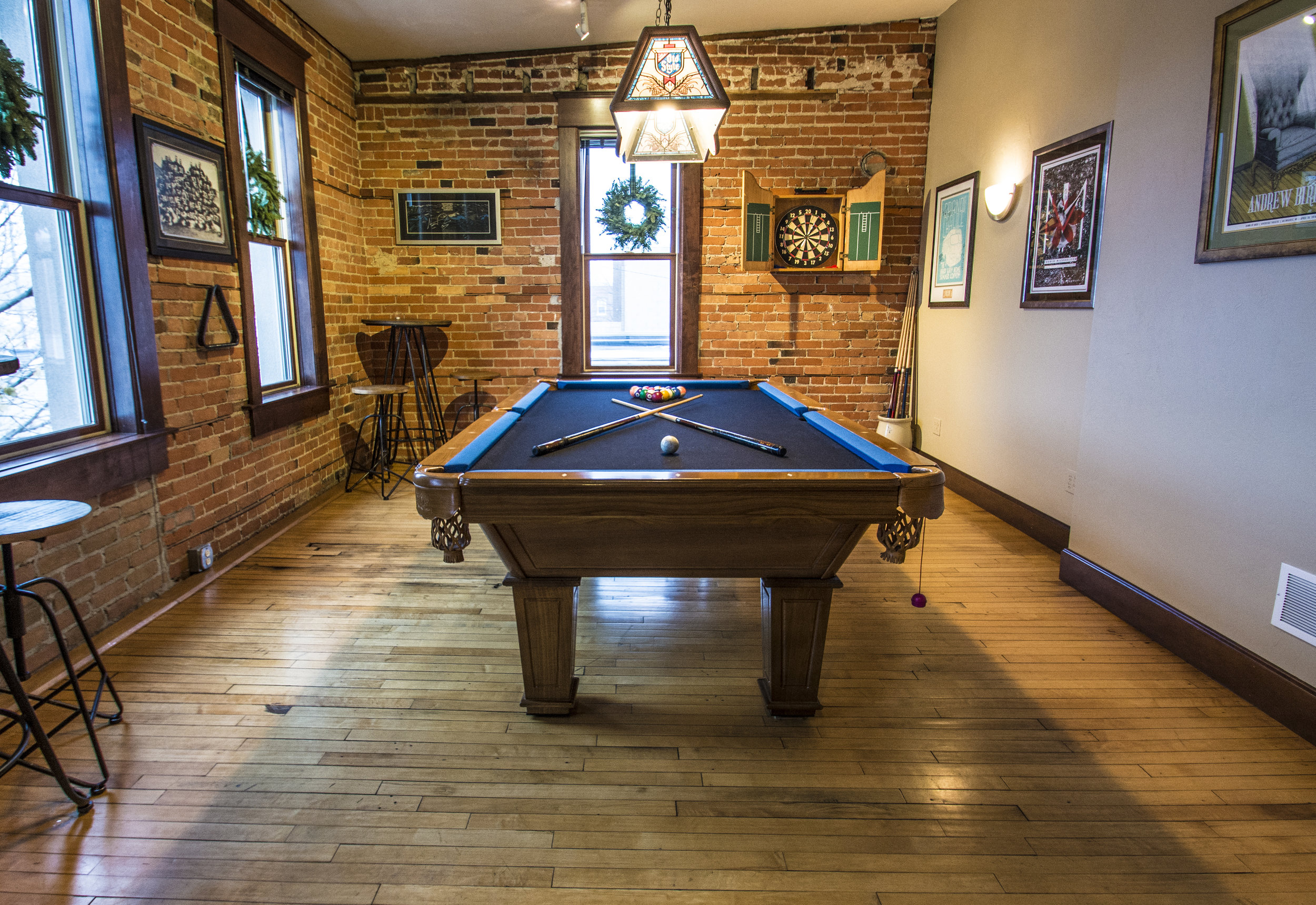 GamING  - Either sit down with some classic competitions such as chess, checkers or backgammon, or enjoy sticks or stakes with billiards or our various poker tables.