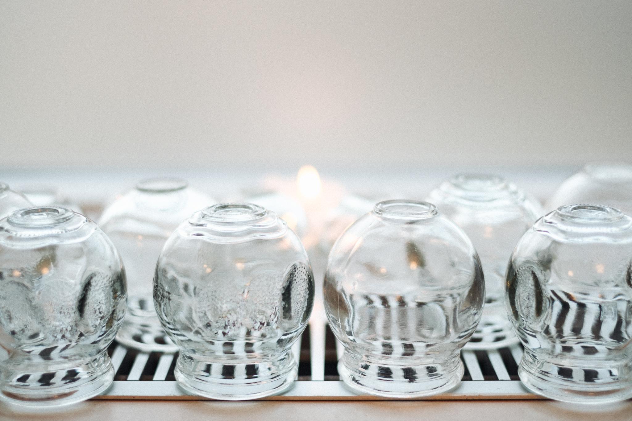 Glas cupper