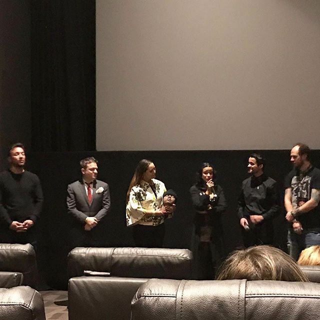 Great Q&A after our screening @nychorrorfilmfest. Thank you all who came out and SOLD OUT our last screening of the year! #circuitfestival #lucianafaulhaber #awardwinning #horrormovies #indiefilm #bloodyfun