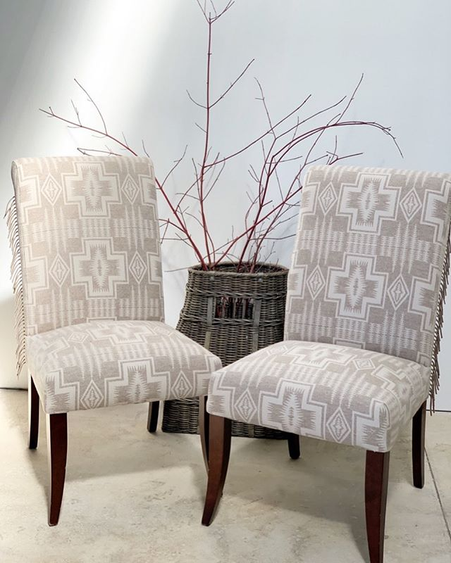 New dining chairs would make any meal a better one! . . DM for inquiries