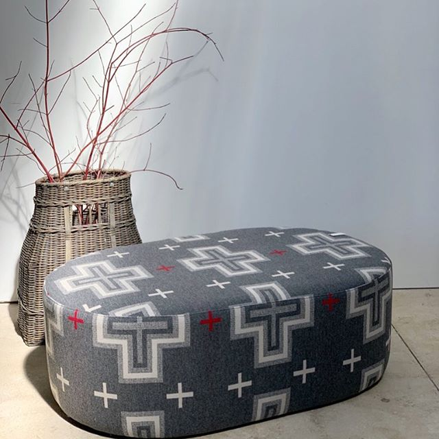 We are have so many amazing Pendleton® wool upholstered pieces in the shop. Come by and pick out the shop stopper piece for your home or office.