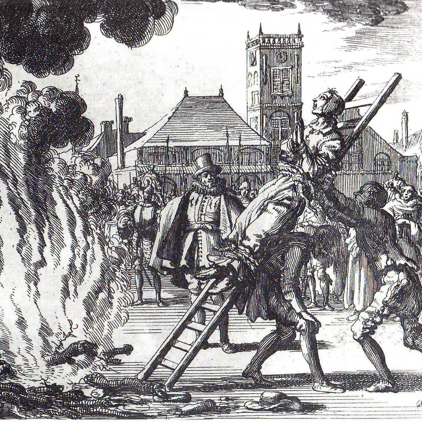 Witch Jan Luyken, execution of Anne Hendricks in Amsterdam 1571.JPG
