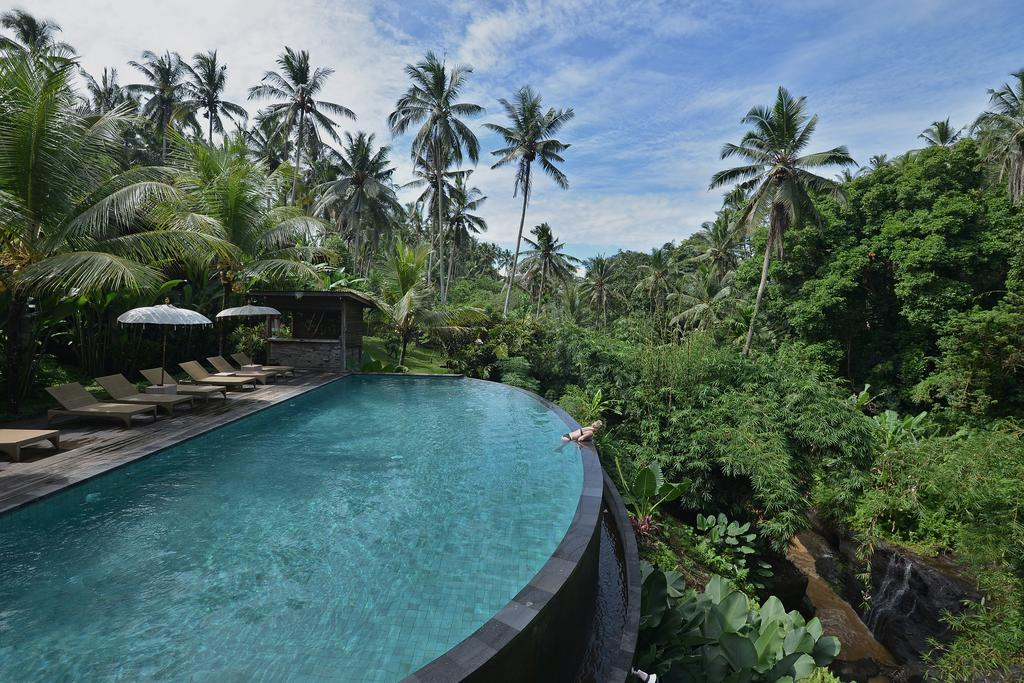 One of the stunning infinity pools Pertiwi Bisma 1 has to offer.