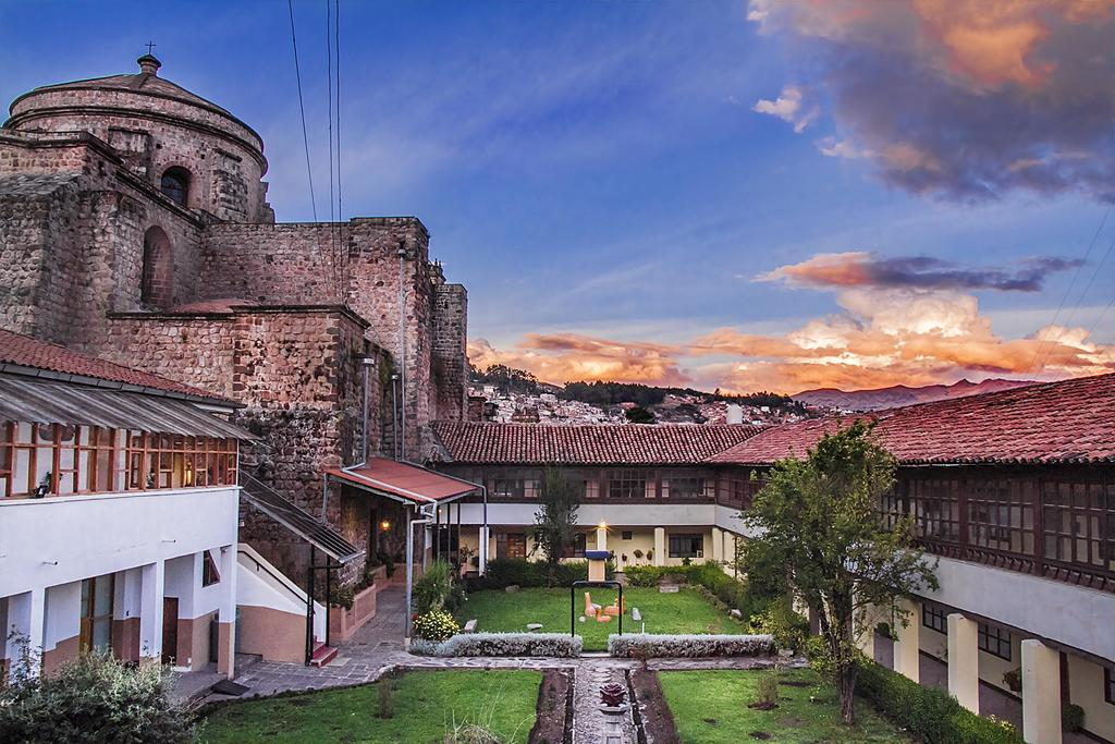 You may find it hard to leave the beautiful courtyard at Hotel Monasterio San Pedro!
