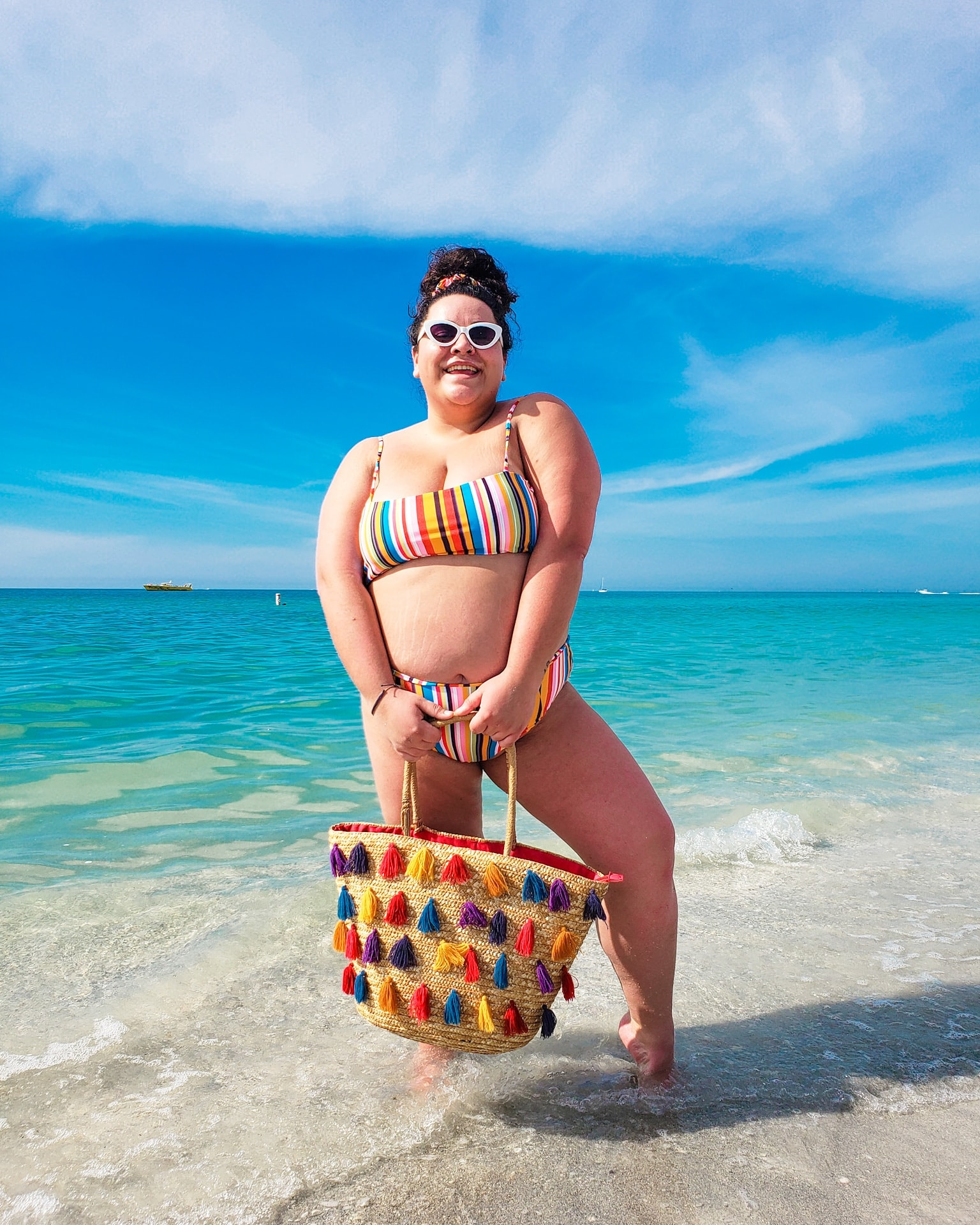 """""""If I had seen one plus size traveler in a bikini on my feed 10 years ago maybe I wouldn't have killed myself at the gym and with strict diets for months trying to be someone I wasn't."""""""