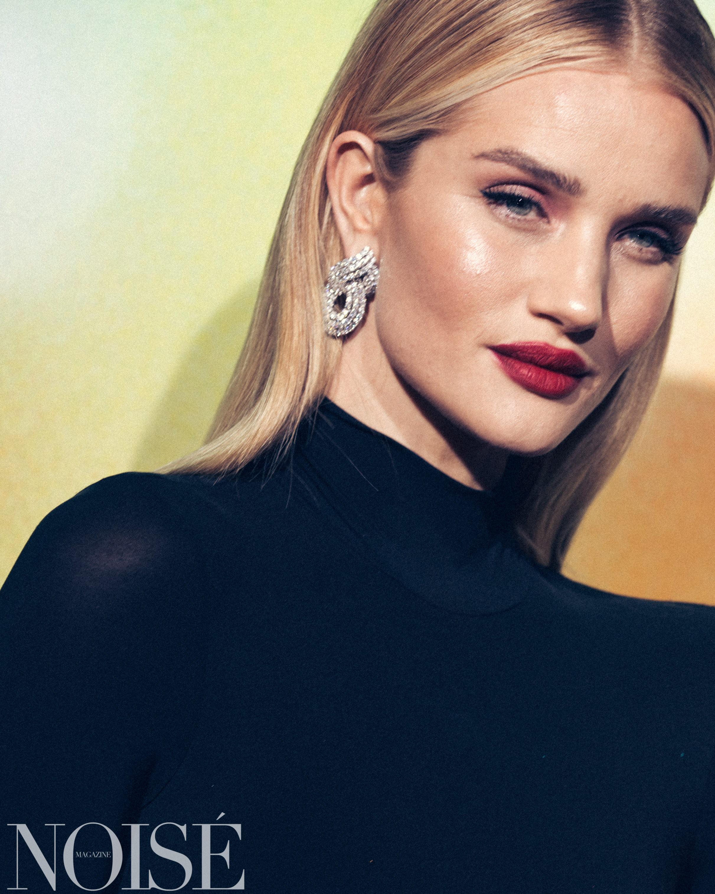 Rosie HW wearing The Row at BoF 500 gala, Photograph by Siyu Tang