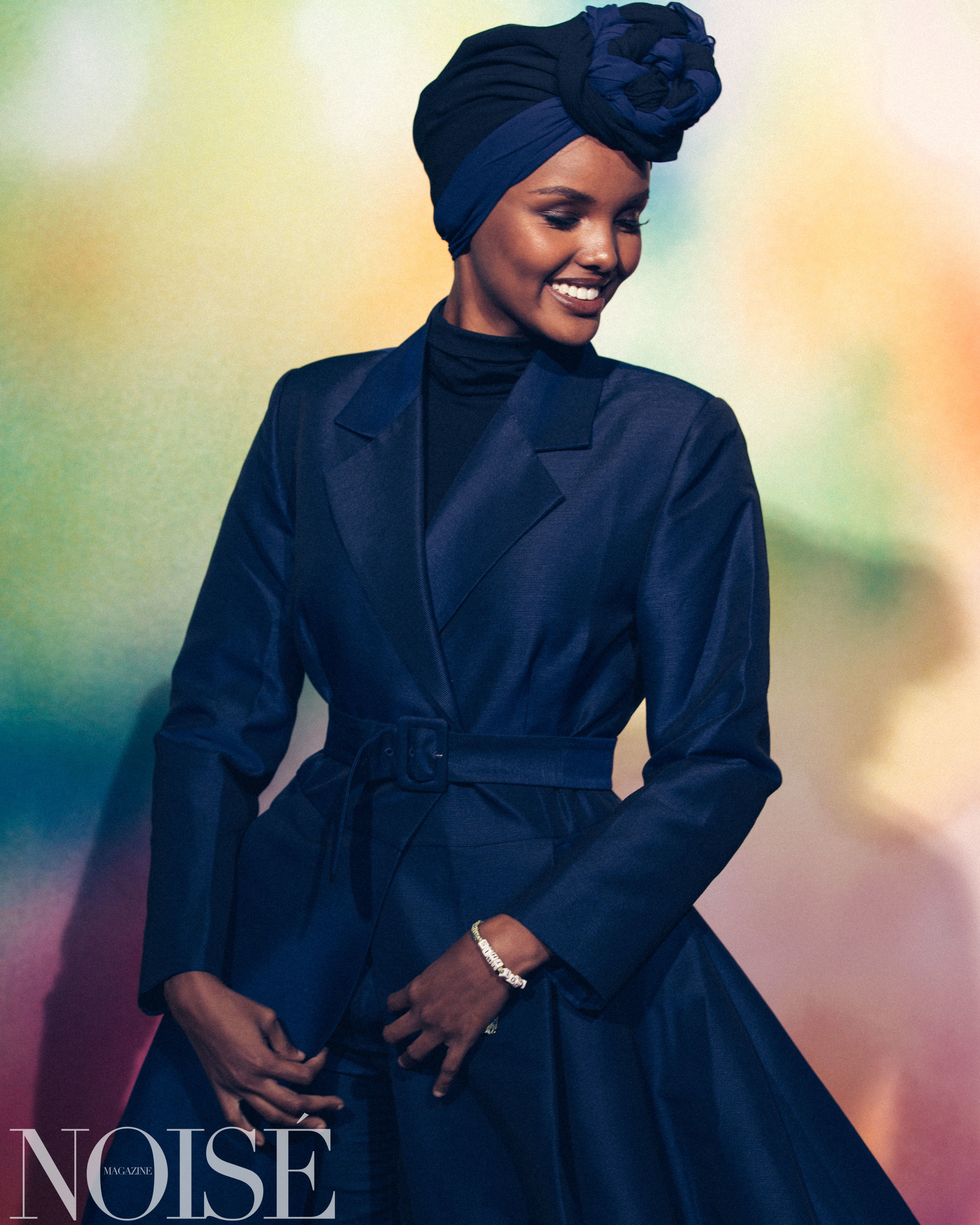 Halima wearing Bouguessa at BoF 500 gala, Photograph by Siyu Tang