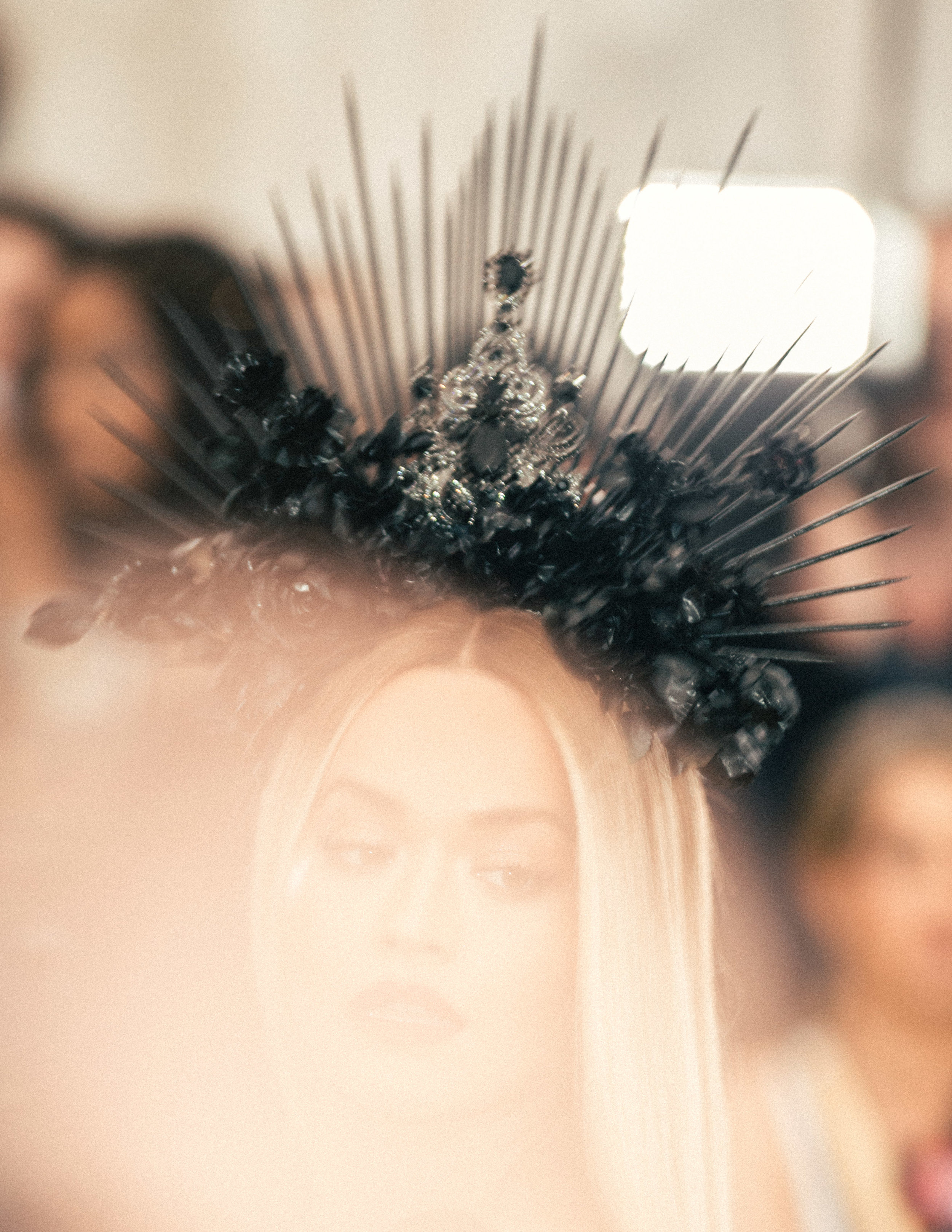 Rita Ora at the 2018 Met Gala. Photograph by Siyu Tang.