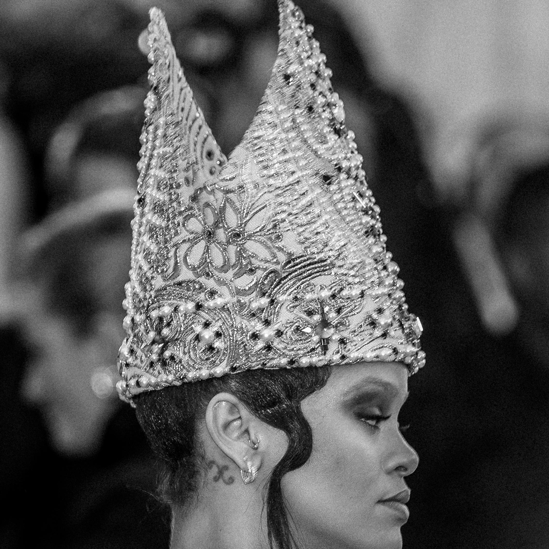 Rihanna at the 2018 Met Gala. Photograph by Siyu Tang.