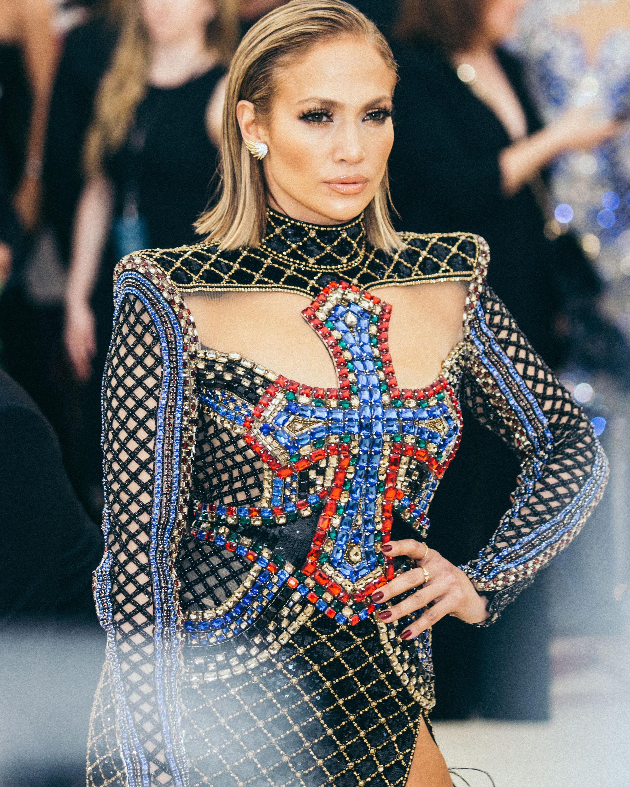 Jennifer Lopez at the 2018 Met Gala. Photograph by Siyu Tang.