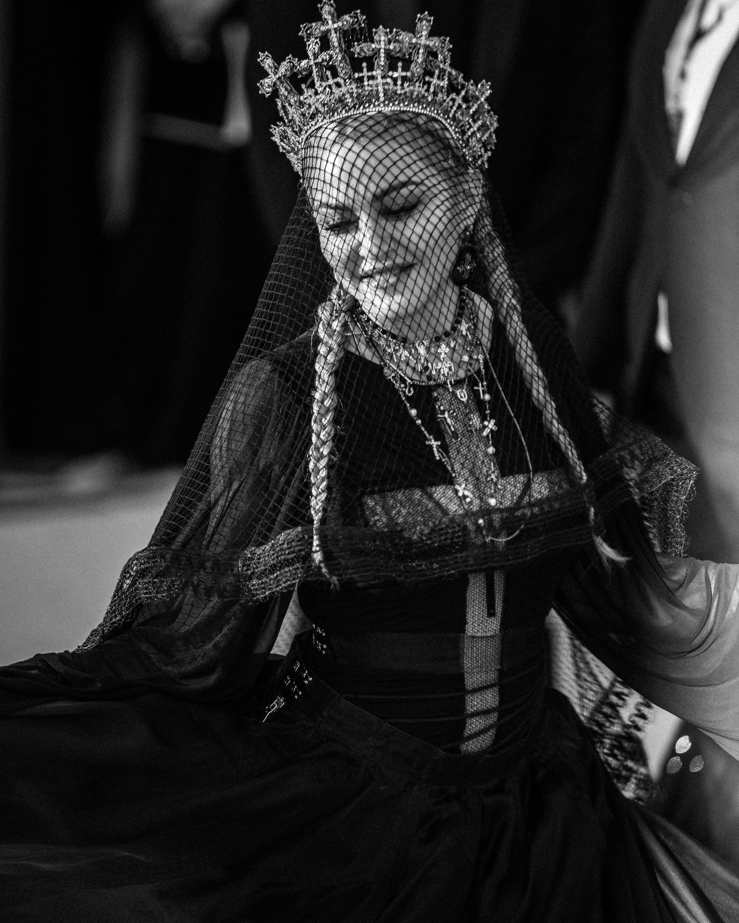 Madonna at the 2018 Met Gala. Photograph by Siyu Tang.