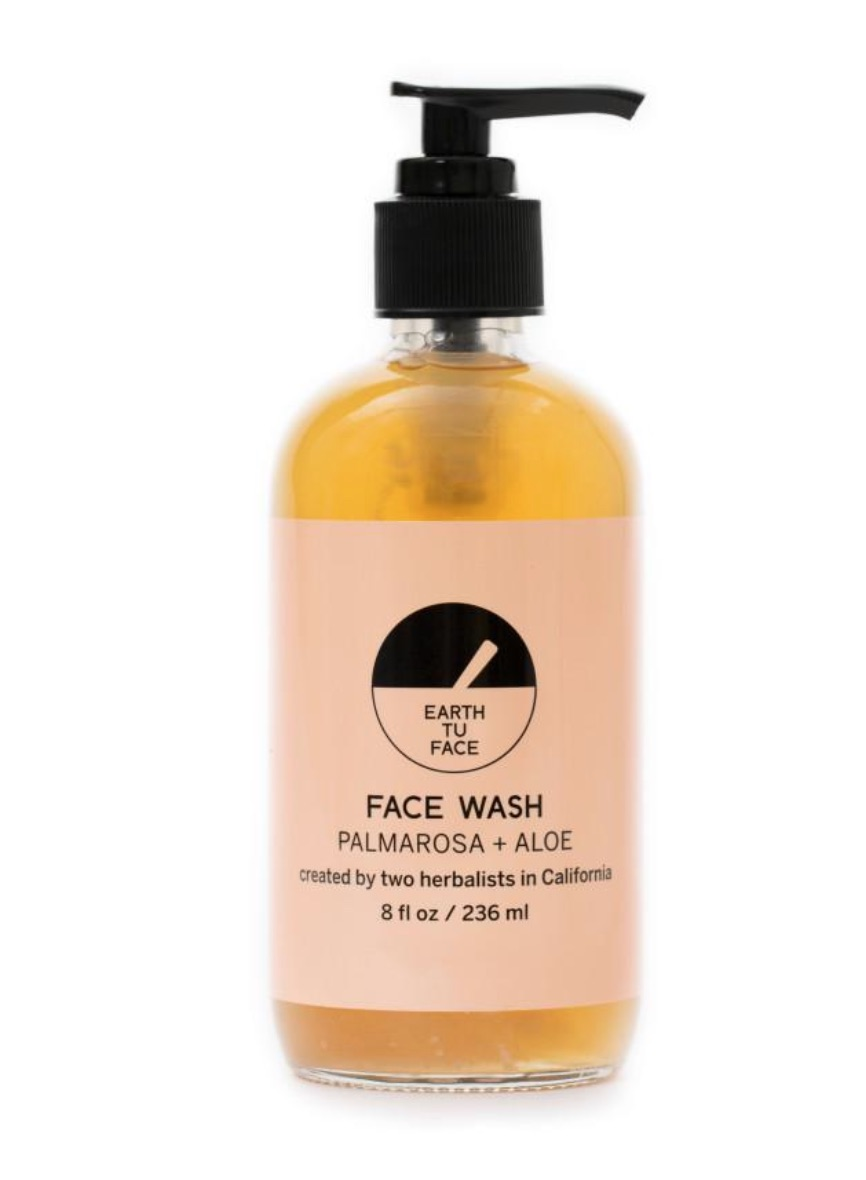 Fresh Face: - An extremely gentle soap made with organic food-grade oils, this face wash will remove impurities and make-up, and refresh your face without stripping the skin. Made with pure organic plant oils, like Hemp Oil, that are saponified to create a sudsy, cleansing wash. The healing petals of Palmarosa and Ylang Ylang regulate both oily and dry skin types, leaving the delicate scent of fresh flowers while Aloe and Olive Oil replenish and hydrate the face without drying.