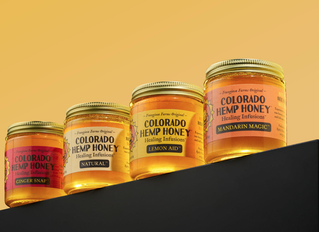 Colorado Hemp Honey - We are kind of in love with Colorado Hemp Honey's Ginger Soothe hemp honey ginger sticks. Made with pure raw honey, full spectrum hemp extract and organic ginger essential oil-these are perfect to add to your tea regimen or just eat straight from the stick (like we do). These little sticks can help sharpen the mind, aid with digestion, muscle inflammation and help to soothe a sore throat.